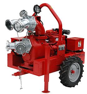 Pompa dla straży pożarnej